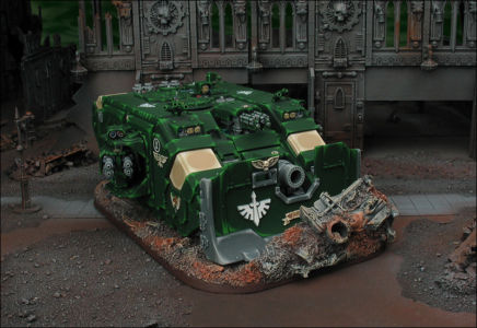 Click to view Land Raider Ares