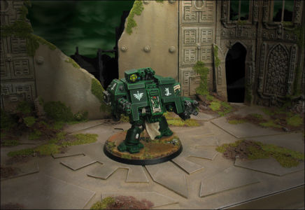 Click to view 3rd Company Venerable Dreadnought Nathan