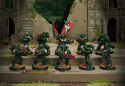 Click to view 3rd Company Tactical Squad Occultus Veridicus