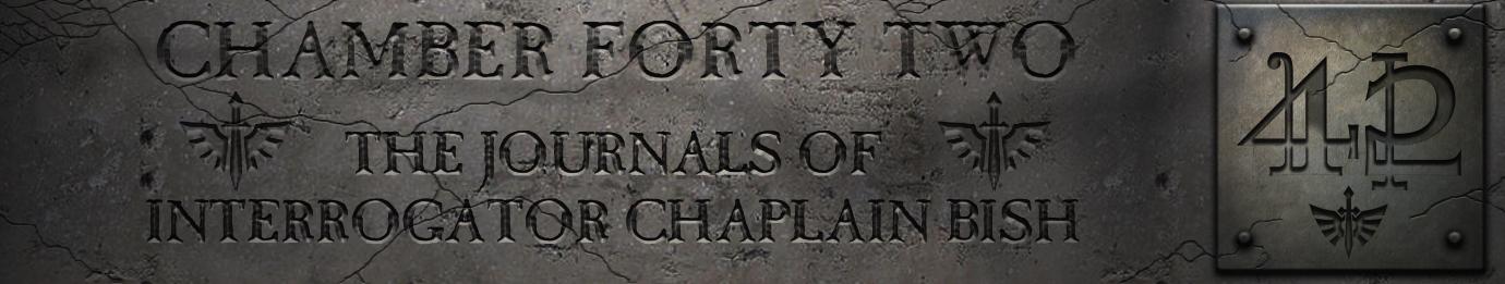 The Journals of interrogator Chaplain Bish