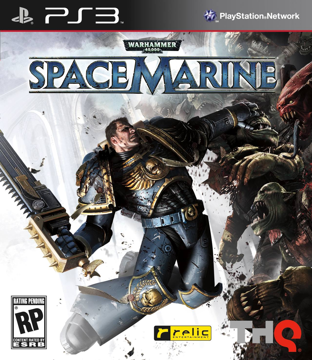 PS3 Space Marine Cover